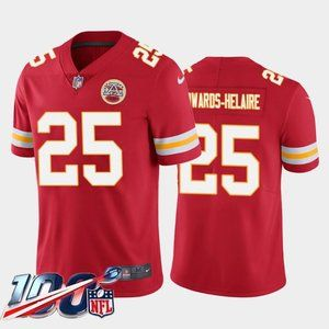 Chiefs Clyde Edwards-Helaire Red Jersey